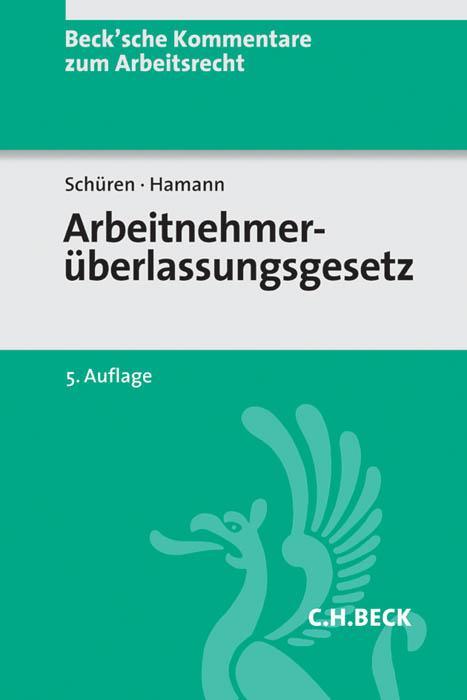 Cover-Bild Arbeitnehmerüberlassungsgesetz