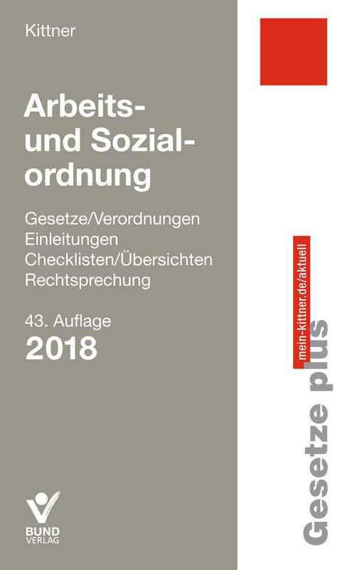 Cover-Bild Arbeits- und Sozialordnung
