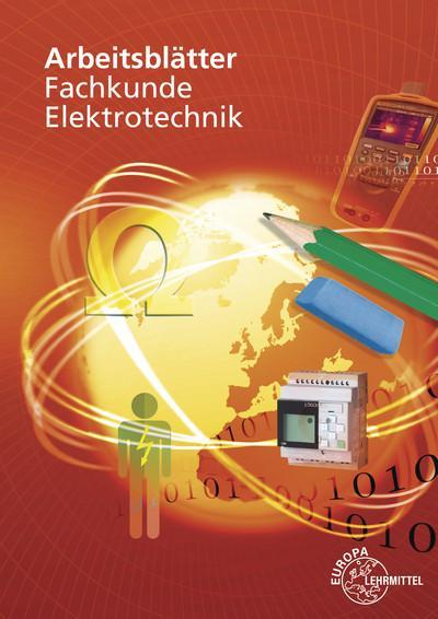 Cover-Bild Arbeitsblätter Fachkunde Elektrotechnik