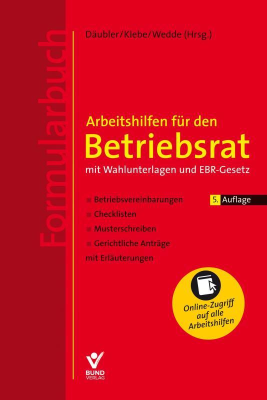 Cover-Bild Arbeitshilfen für den Betriebsrat