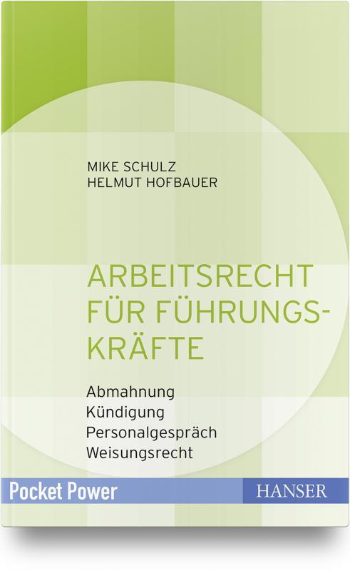 Cover-Bild Arbeitsrecht für Führungskräfte