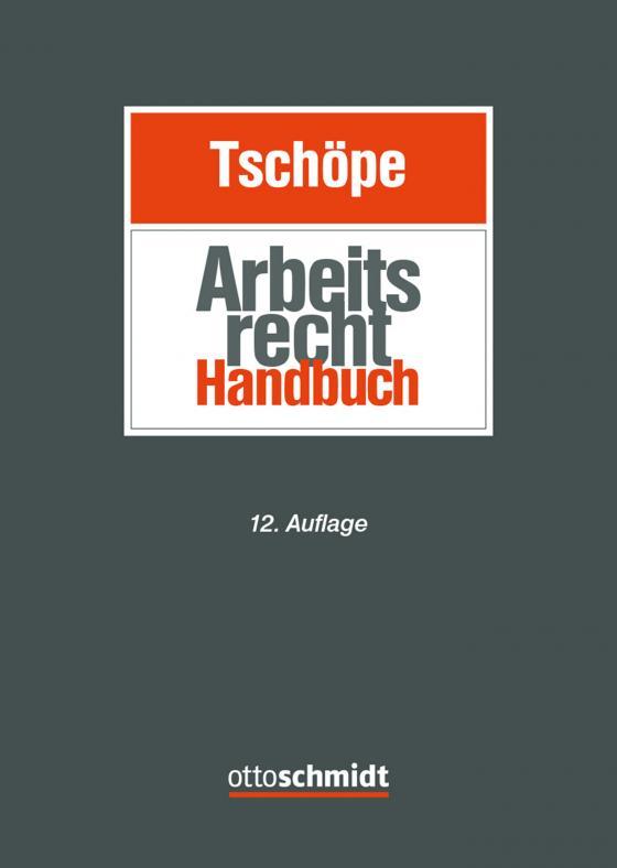 Cover-Bild Arbeitsrecht Handbuch