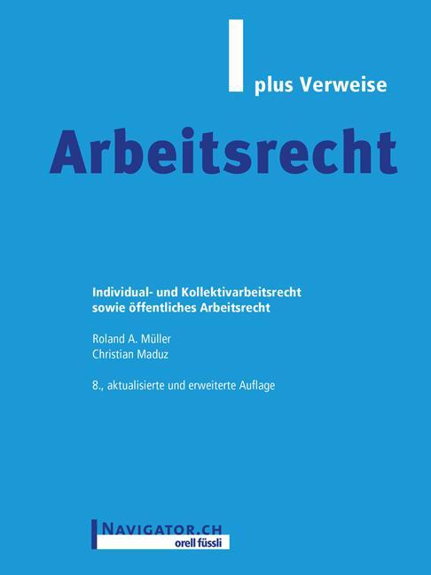 Cover-Bild Arbeitsrecht plus Verweise