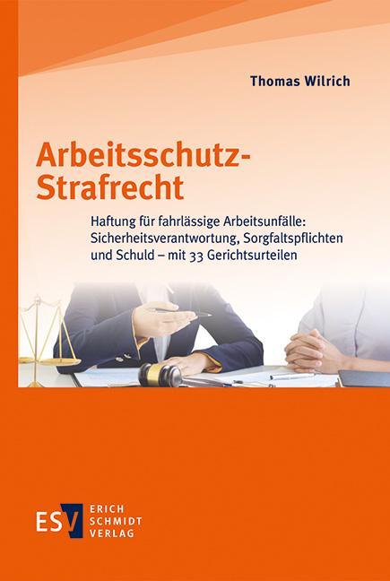 Cover-Bild Arbeitsschutz-Strafrecht