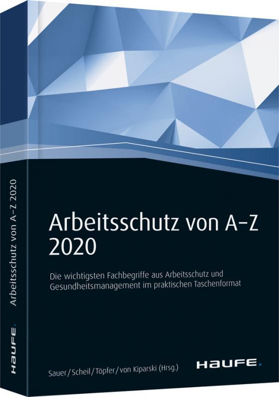 Cover-Bild Arbeitsschutz von A-Z