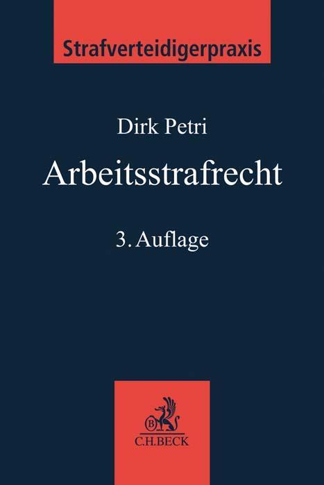 Cover-Bild Arbeitsstrafrecht
