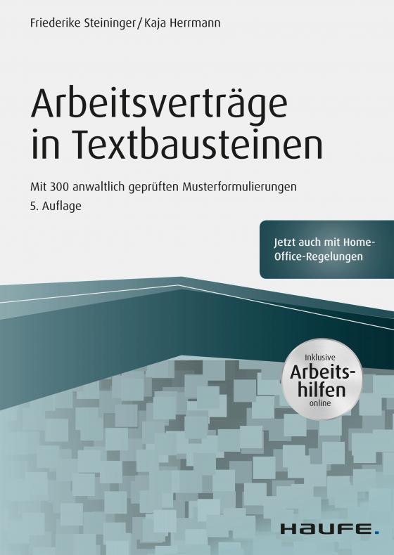 Cover-Bild Arbeitsverträge in Textbausteinen - inkl. Arbeitshilfen online