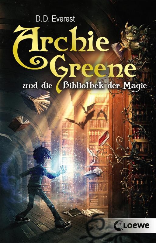 Cover-Bild Archie Greene und die Bibliothek der Magie