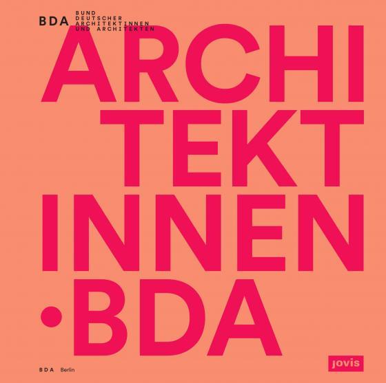 Cover-Bild Architektinnen. BDA