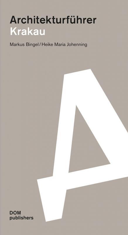 Cover-Bild Architekturführer Krakau