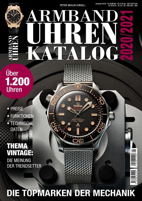 Cover-Bild Armbanduhren Katalog 2020/2021