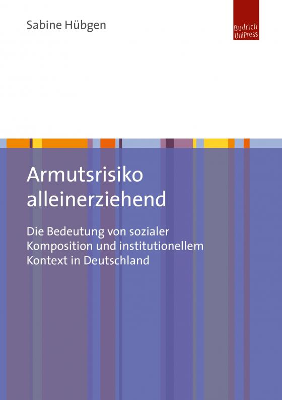 Cover-Bild Armutsrisiko alleinerziehend