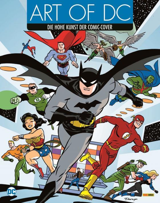 Cover-Bild Art of DC - Die hohe Kunst der Comic-Cover