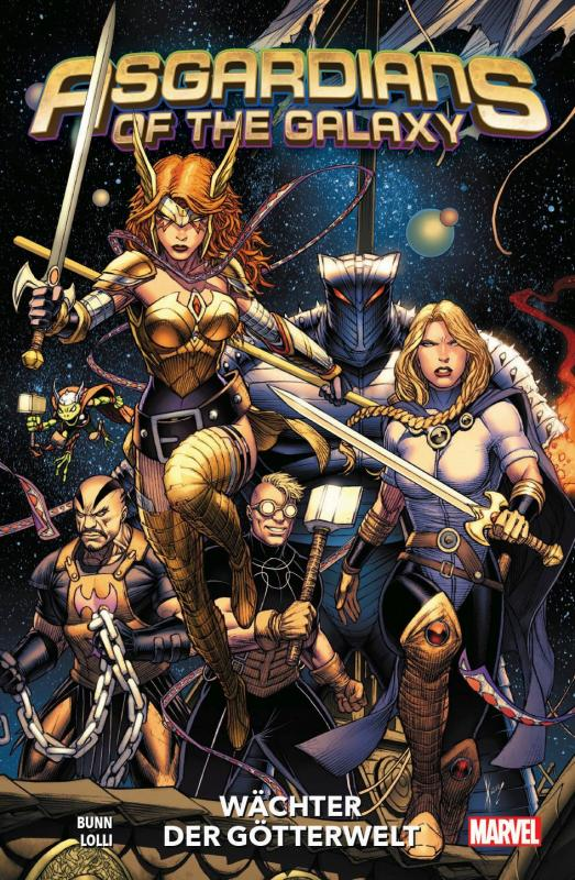 Cover-Bild Asgardians of the Galaxy