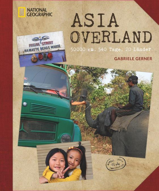 Cover-Bild Asia Overland