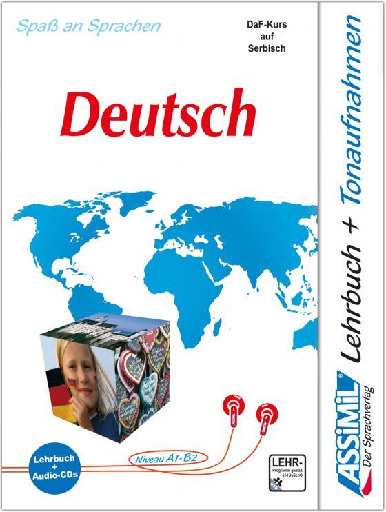 Cover-Bild ASSiMiL Nemački - Deutschkurs in serbischer Sprache - Audio-Sprachkurs - Niveau A1-B2