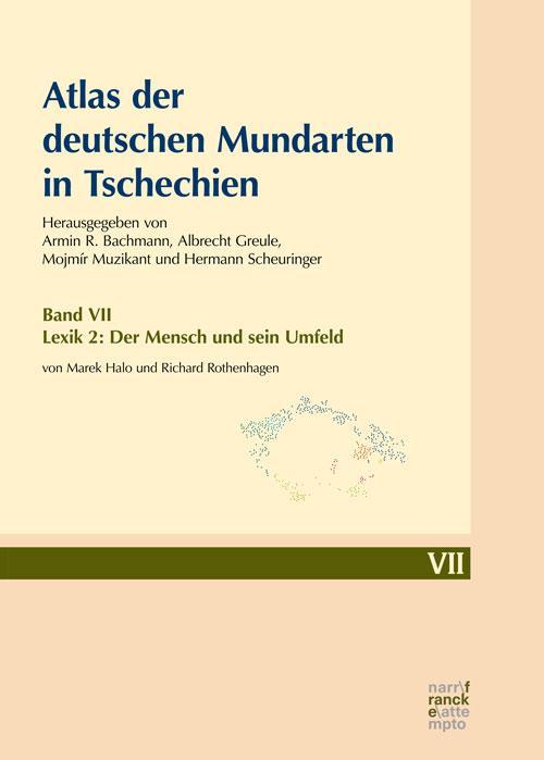Cover-Bild Atlas der deutschen Mundarten in Tschechien