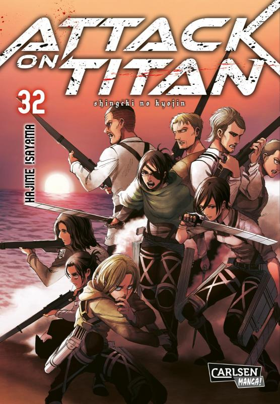 Cover-Bild Attack on Titan 32