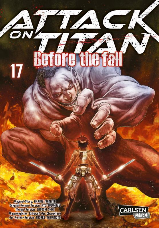 Cover-Bild Attack on Titan - Before the Fall 17