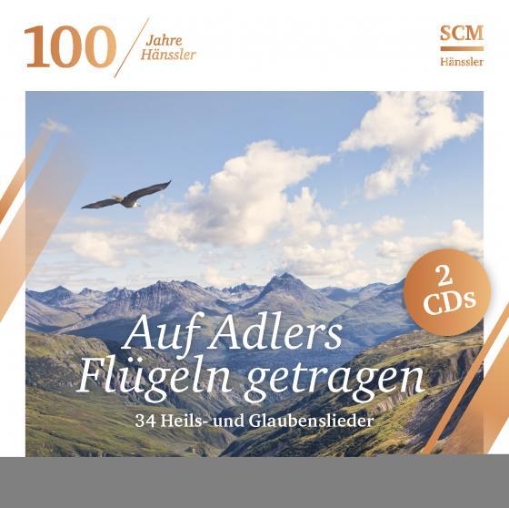 Cover-Bild Auf Adlers Flügeln getragen (100 Jahre Hänssler)