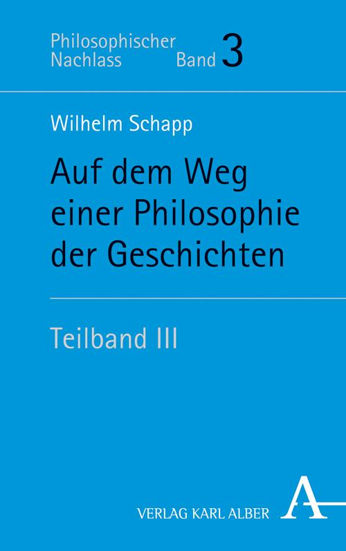Cover-Bild Auf dem Weg einer Philosophie der Geschichten