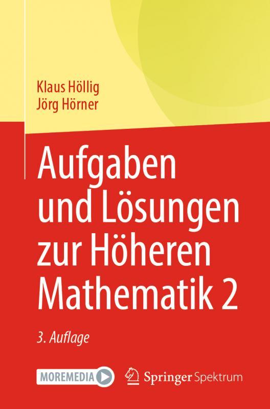Cover-Bild Aufgaben und Lösungen zur Höheren Mathematik 2