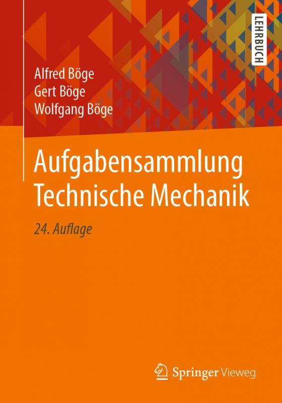 Cover-Bild Aufgabensammlung Technische Mechanik