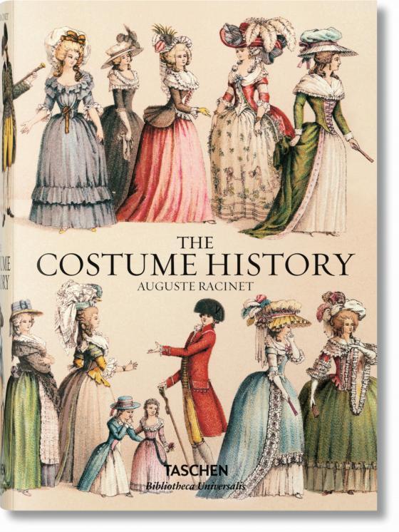 Cover-Bild Auguste Racinet. Kostümgeschichte