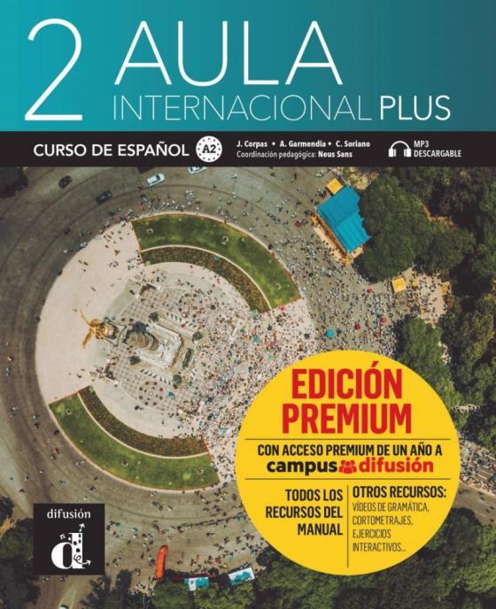 Cover-Bild Aula internacional Plus 2 (A2)