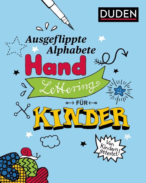 Cover-Bild Ausgeflippte Alphabete - Handlettering für Kinder