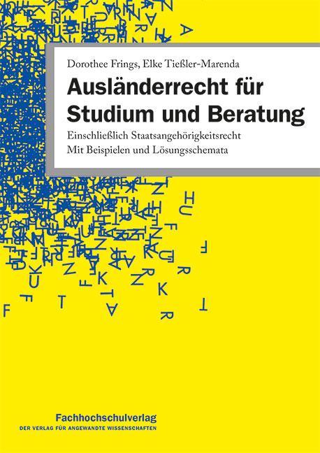 Cover-Bild Ausländerrecht für Studium und Beratung