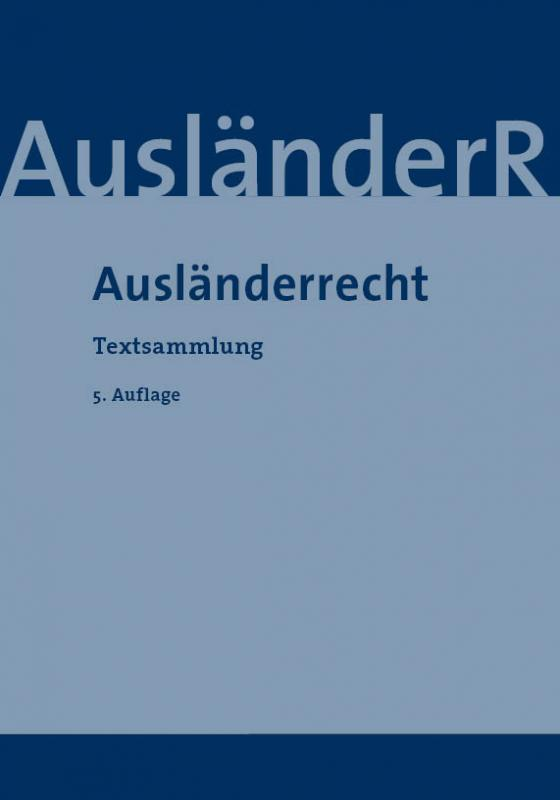 Cover-Bild Ausländerrecht