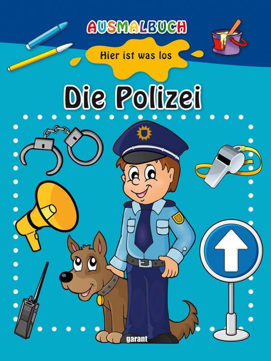 Cover-Bild Ausmalbuch - Die Polizei