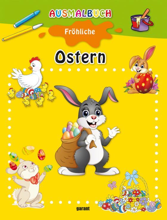 Cover-Bild Ausmalbuch Ostern
