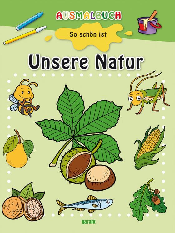 Cover-Bild Ausmalbuch - Unsere Natur