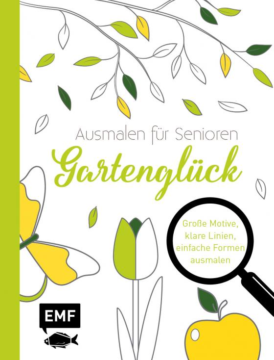 Cover-Bild Ausmalen für Senioren – Gartenglück