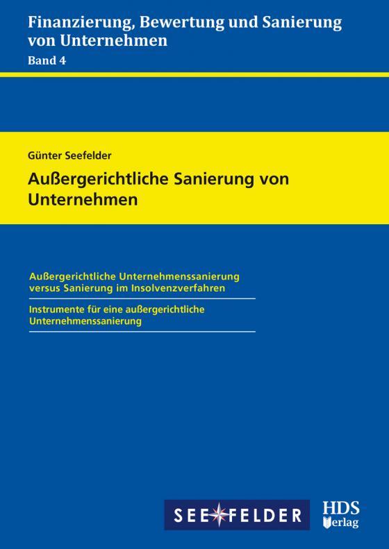Cover-Bild Außergerichtliche Sanierung von Unternehmen