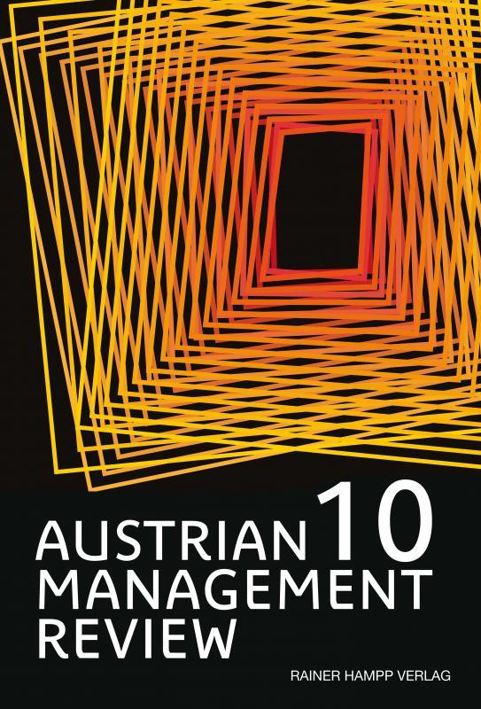 Cover-Bild AUSTRIAN MANAGEMENT REVIEW, Volume 10