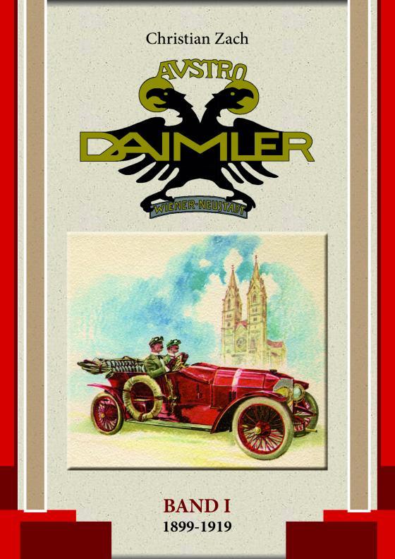 Cover-Bild Austro Daimler (Band 1)