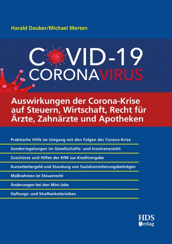 Cover-Bild Auswirkungen der Corona-Krise auf Steuern, Wirtschaft, Recht für Ärzte, Zahnärzte und Apotheken