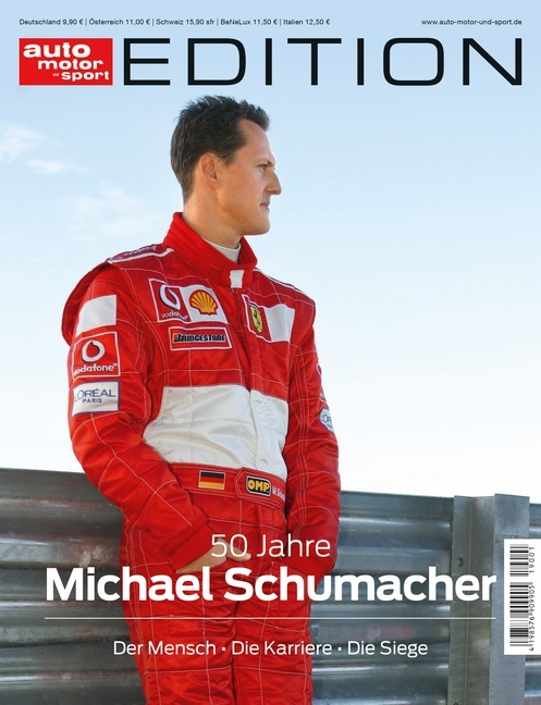 Cover-Bild auto motor und sport Edition - 50 Jahre Michael Schumacher