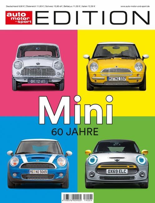 Cover-Bild auto motor und sport Edition - 60 Jahre Mini