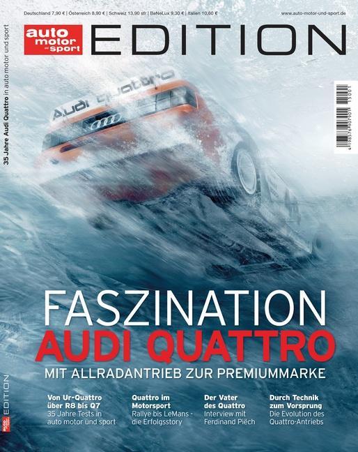 Cover-Bild auto motor und sport Edition - Audi Quattro