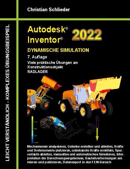 Cover-Bild Autodesk Inventor 2022 - Dynamische Simulation