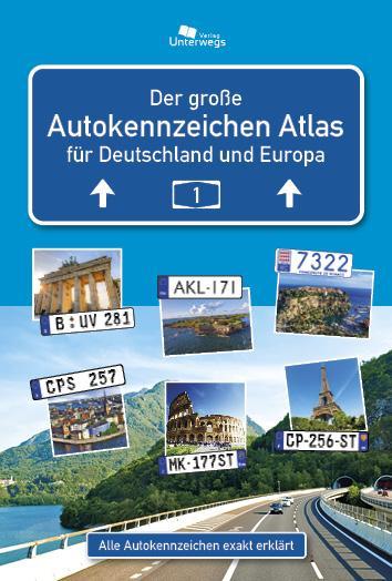 Cover-Bild AUTOKENNZEICHEN ATLAS Deutschland und Europa