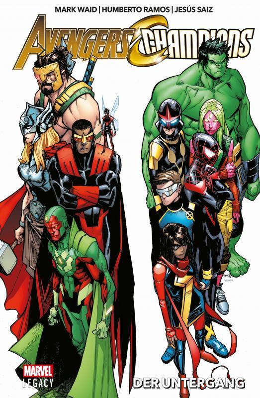 Cover-Bild Avengers/Champions: Der Untergang