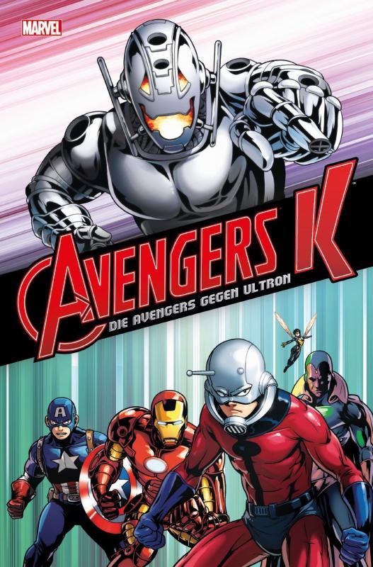 Cover-Bild Avengers K: Die Avengers gegen Ultron