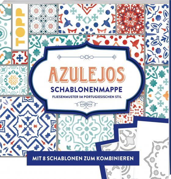 Cover-Bild Azulejos. Schablonenmappe
