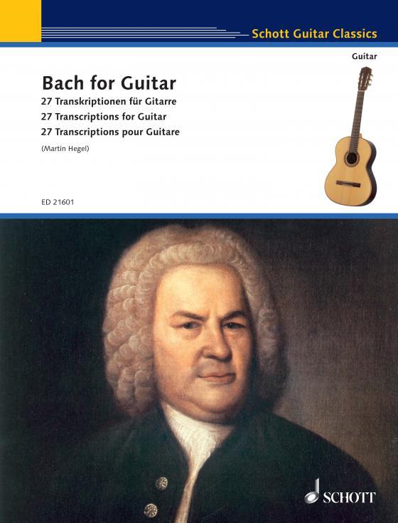 Cover-Bild Bach for Guitar