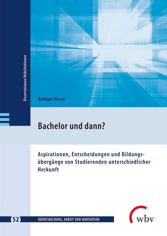 Cover-Bild Bachelor und dann?